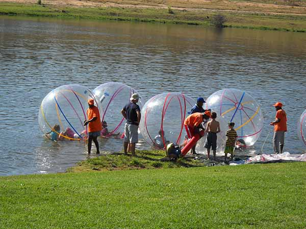 Water Balls | Crazy Inflatables, Jumping Castles, Gladiator